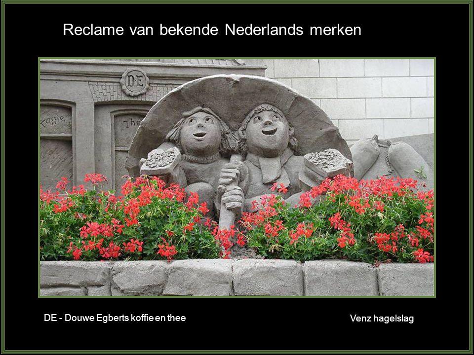 Reclame van bekende Nederlands merken