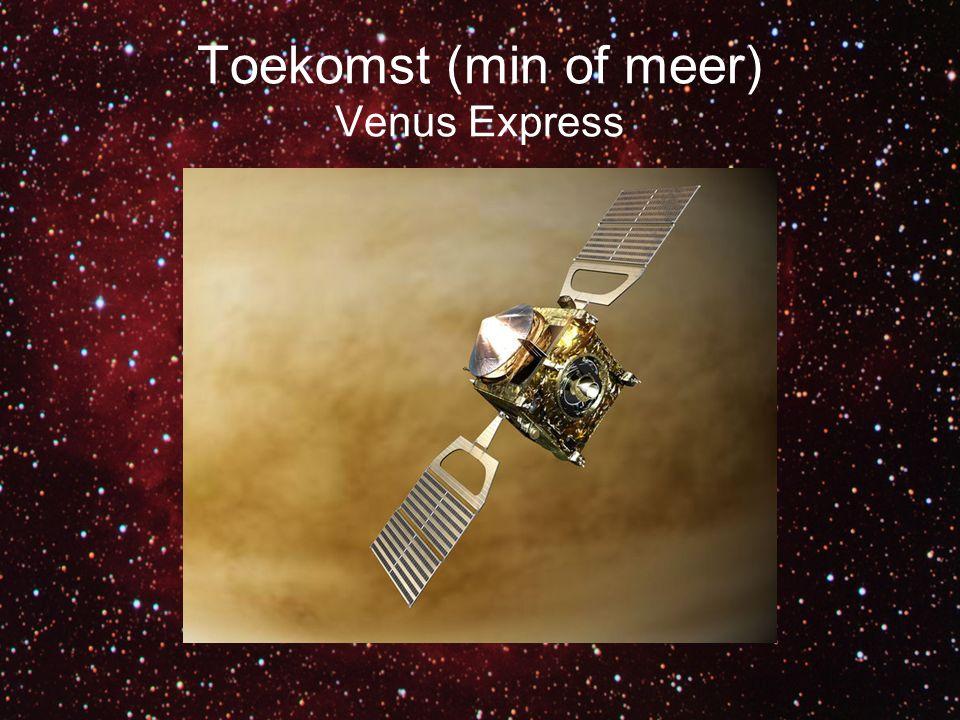 Toekomst (min of meer) Venus Express