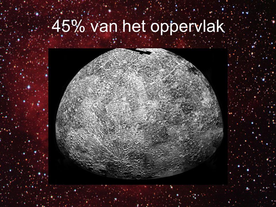 45% van het oppervlak