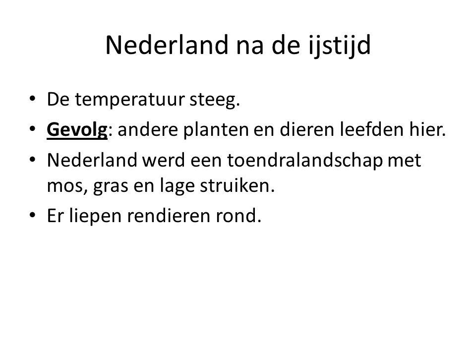 Nederland na de ijstijd