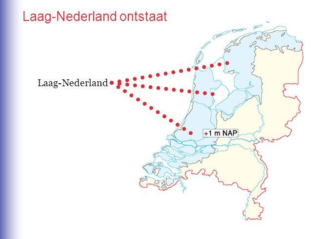 Laag-Nederland ontstaat