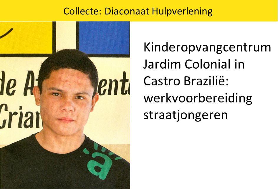 Collecte: Diaconaat Hulpverlening