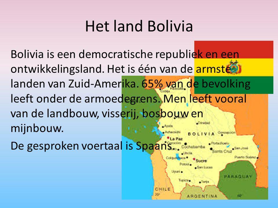 Het land Bolivia