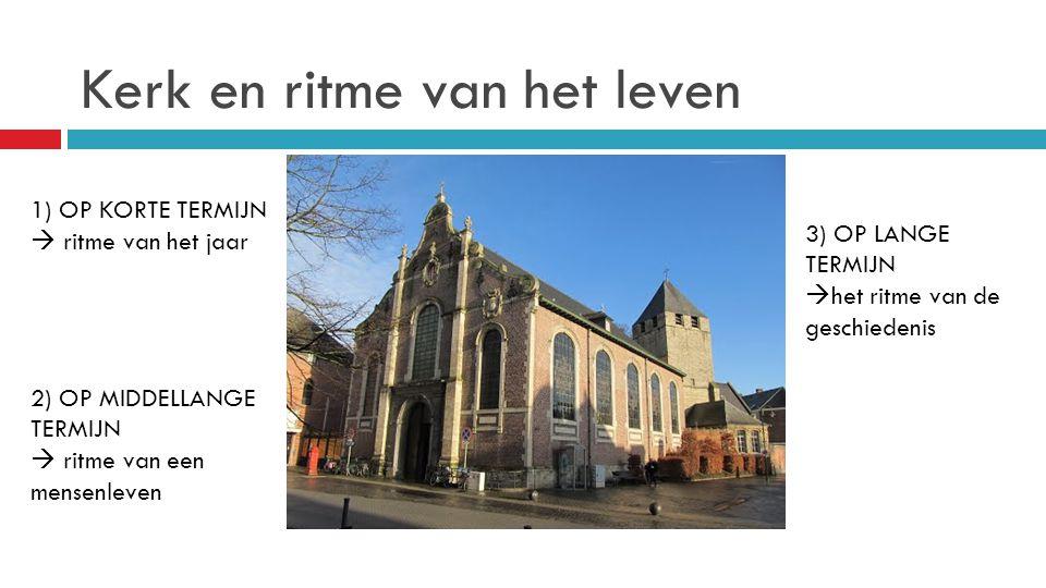 Kerk en ritme van het leven