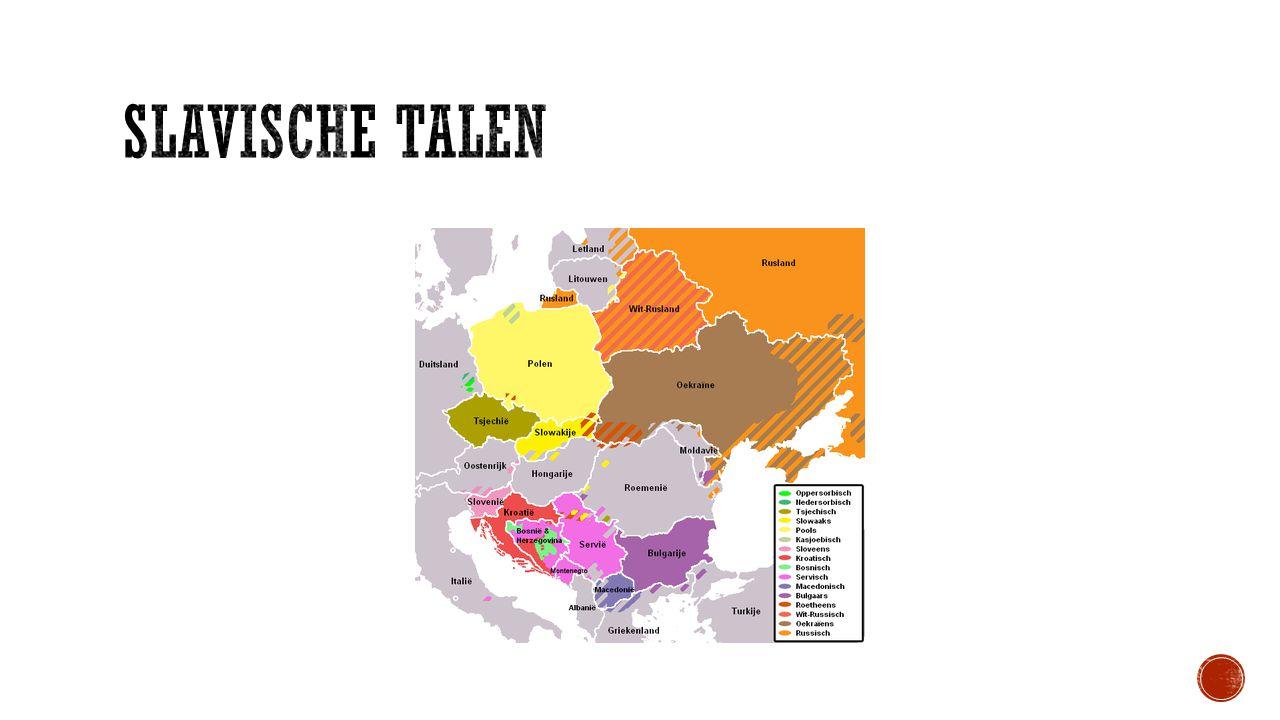 Slavische Talen