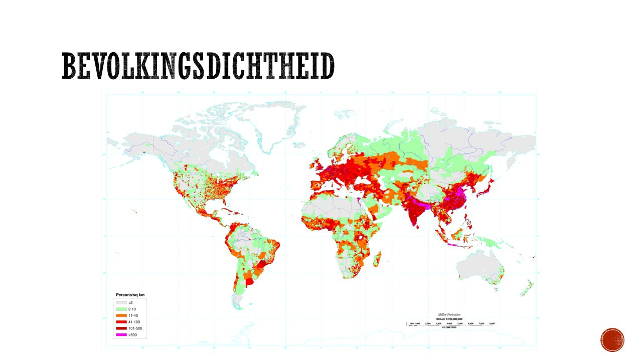 Bevolkingsdichtheid