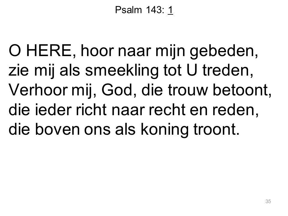 Psalm 143: 1