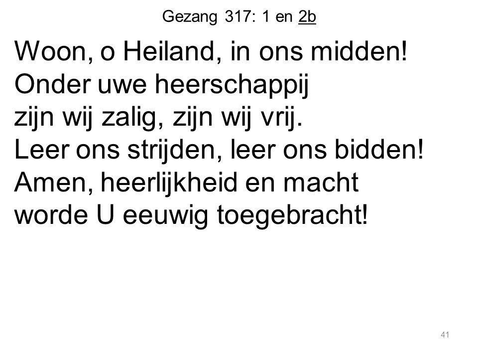 Gezang 317: 1 en 2b