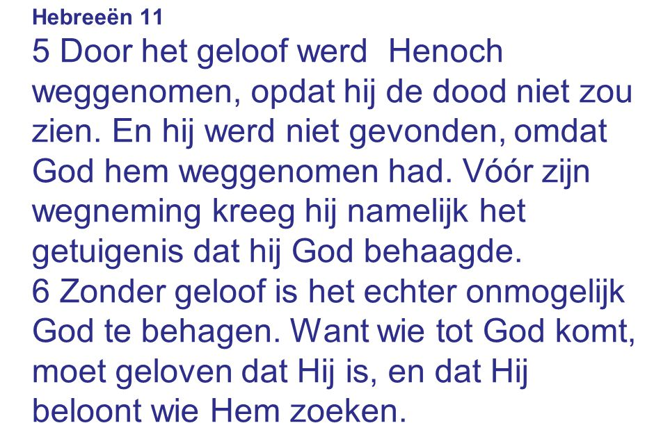 Hebreeën 11