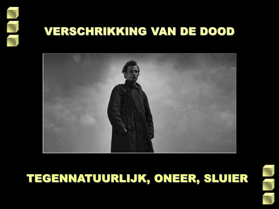 VERSCHRIKKING VAN DE DOOD