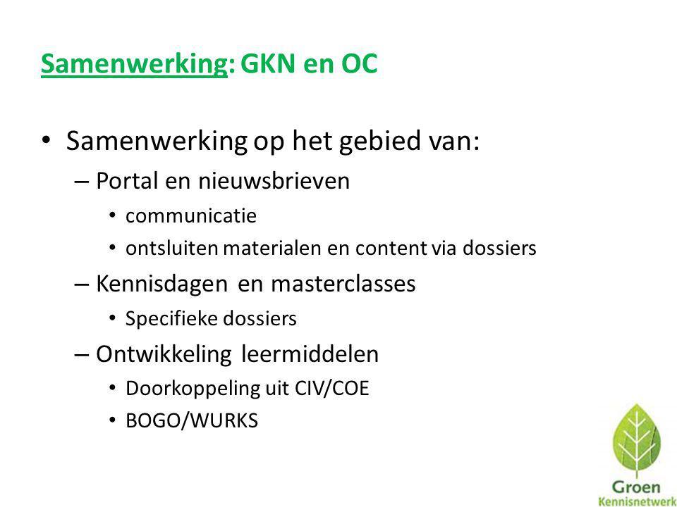 Samenwerking: GKN en OC