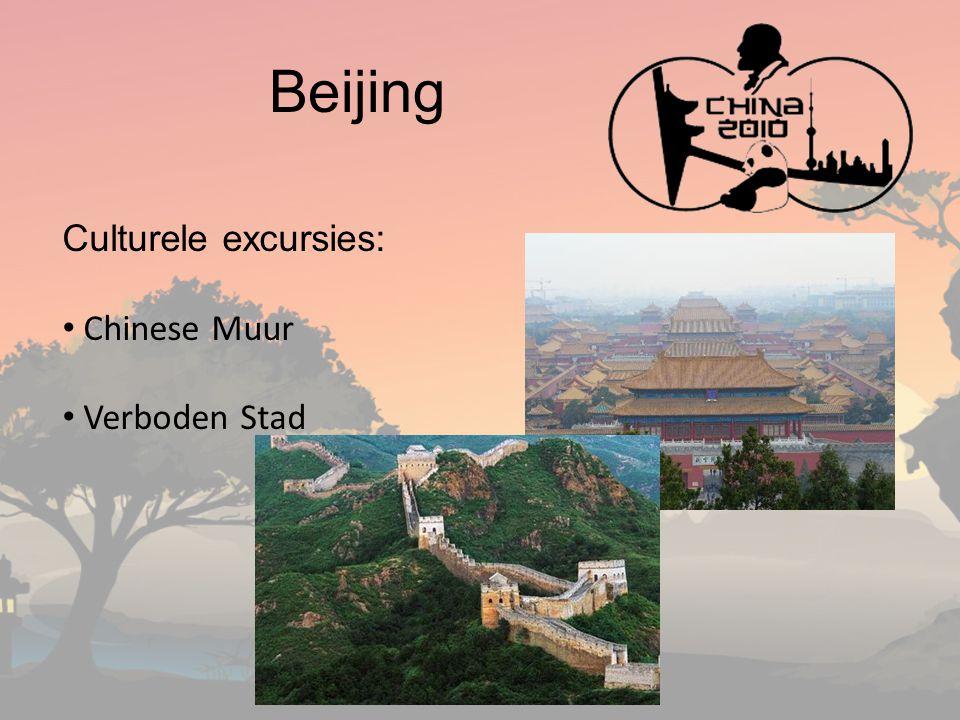 Beijing Culturele excursies: Chinese Muur Verboden Stad