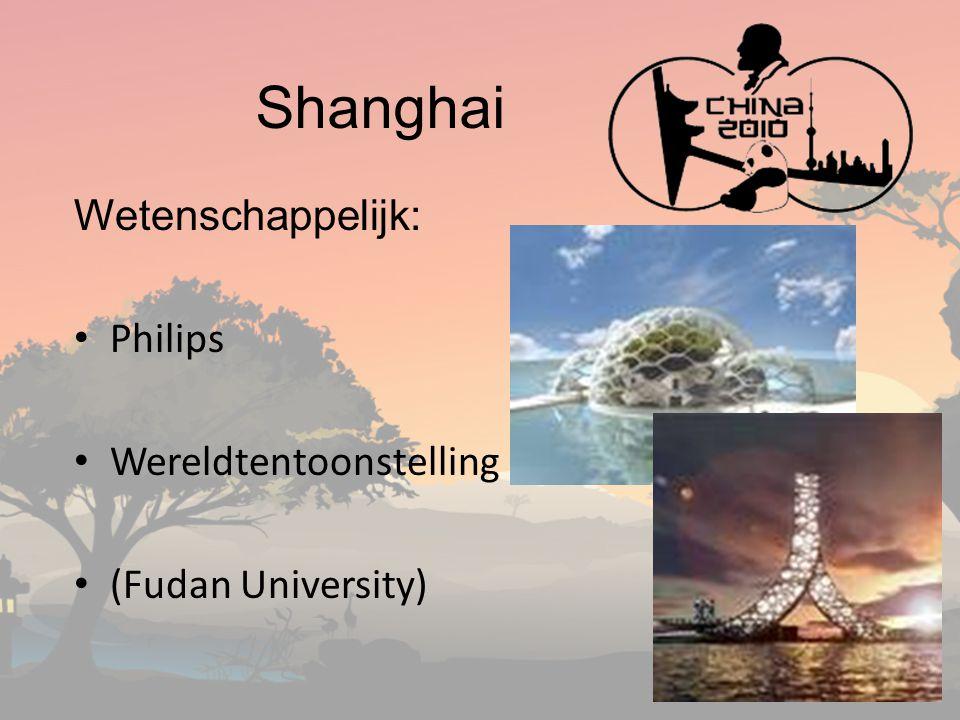 Shanghai Wetenschappelijk: Philips Wereldtentoonstelling