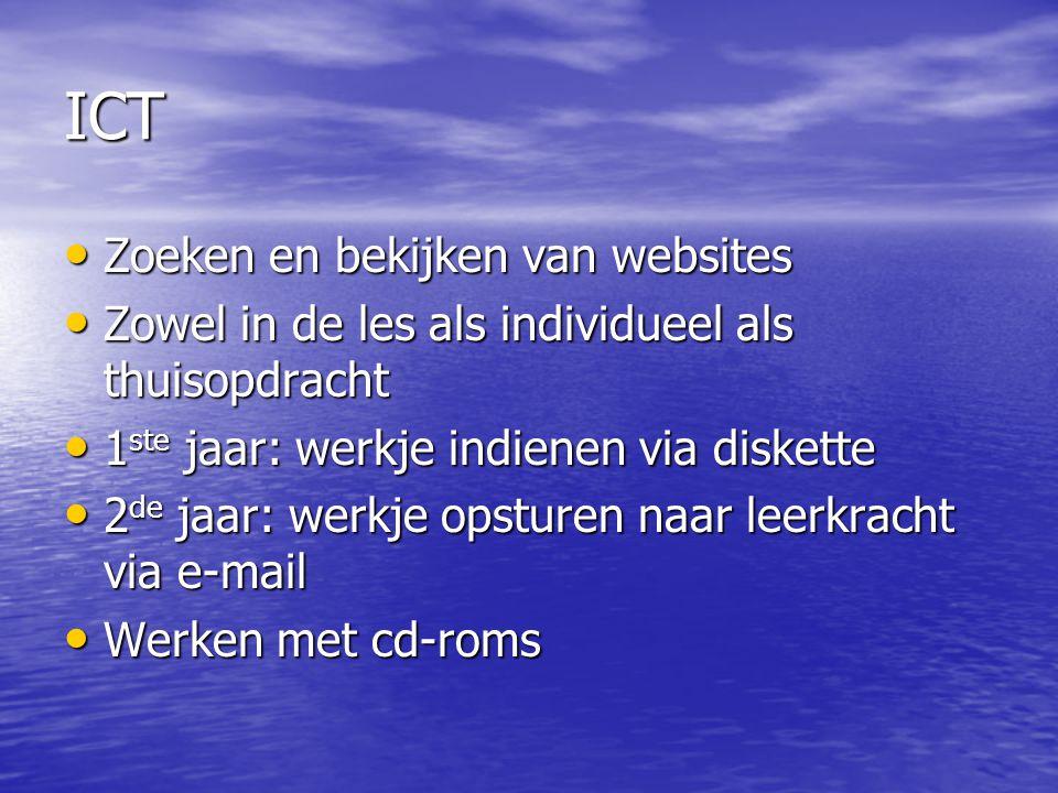 ICT Zoeken en bekijken van websites