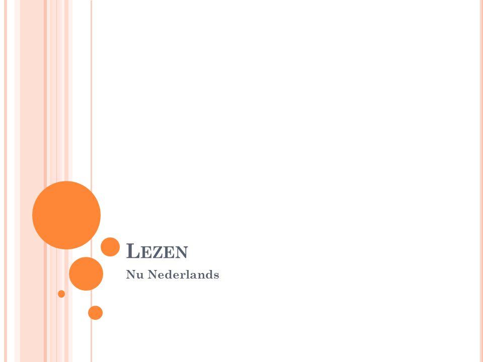 Lezen Nu Nederlands