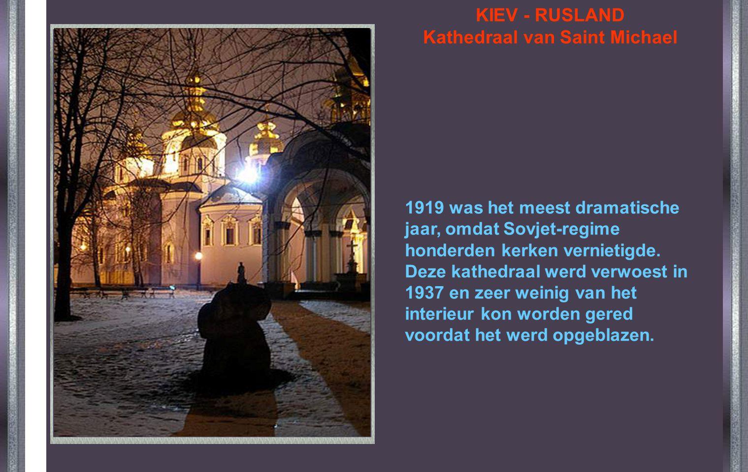 KIEV - RUSLAND Kathedraal van Saint Michael