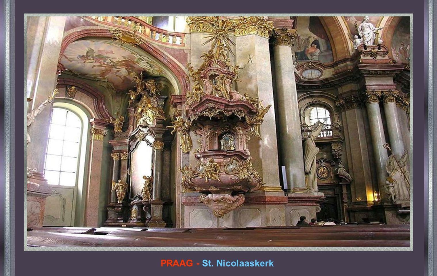 PRAAG - St. Nicolaaskerk