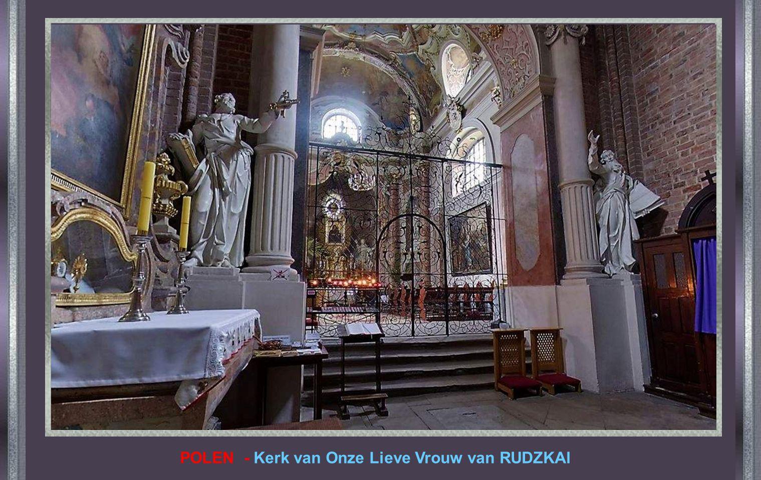 POLEN - Kerk van Onze Lieve Vrouw van RUDZKAl