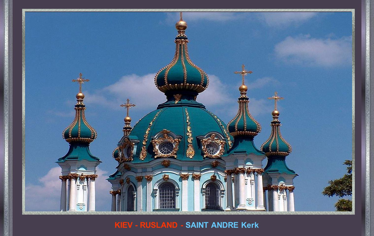 KIEV - RUSLAND - SAINT ANDRE Kerk