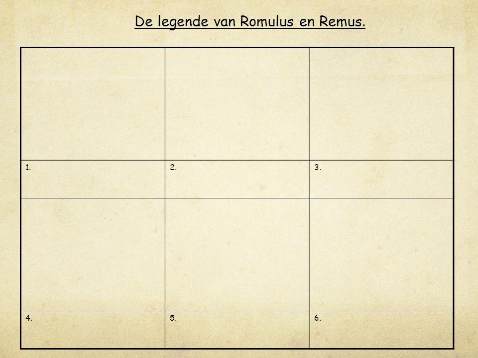 De legende van Romulus en Remus.