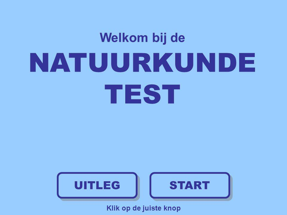 Welkom bij de NATUURKUNDE TEST