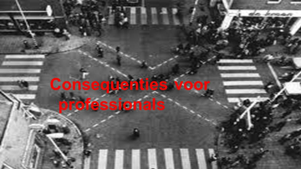 Consequenties voor professionals