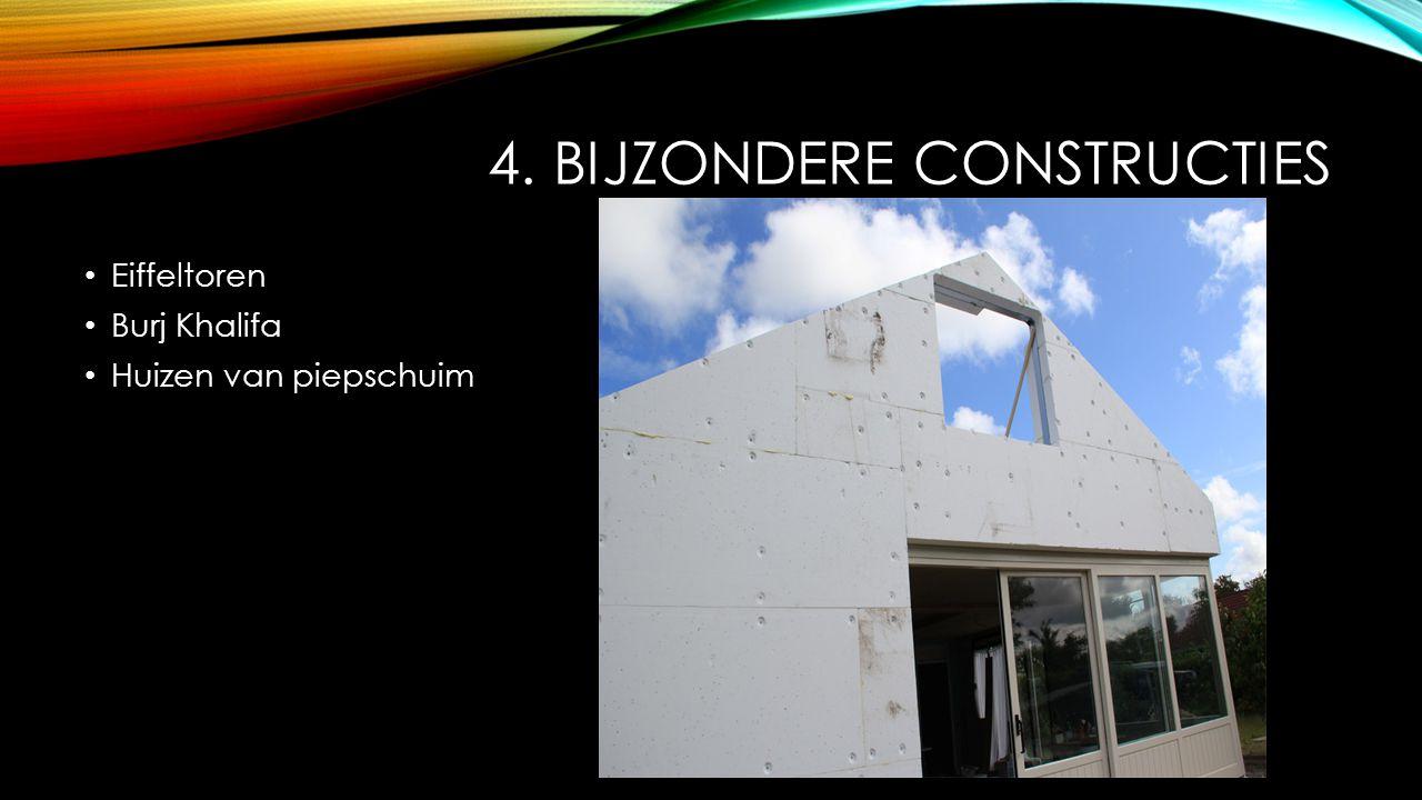 4. Bijzondere constructies