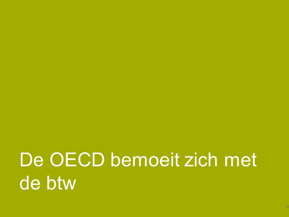 De OECD bemoeit zich met de btw