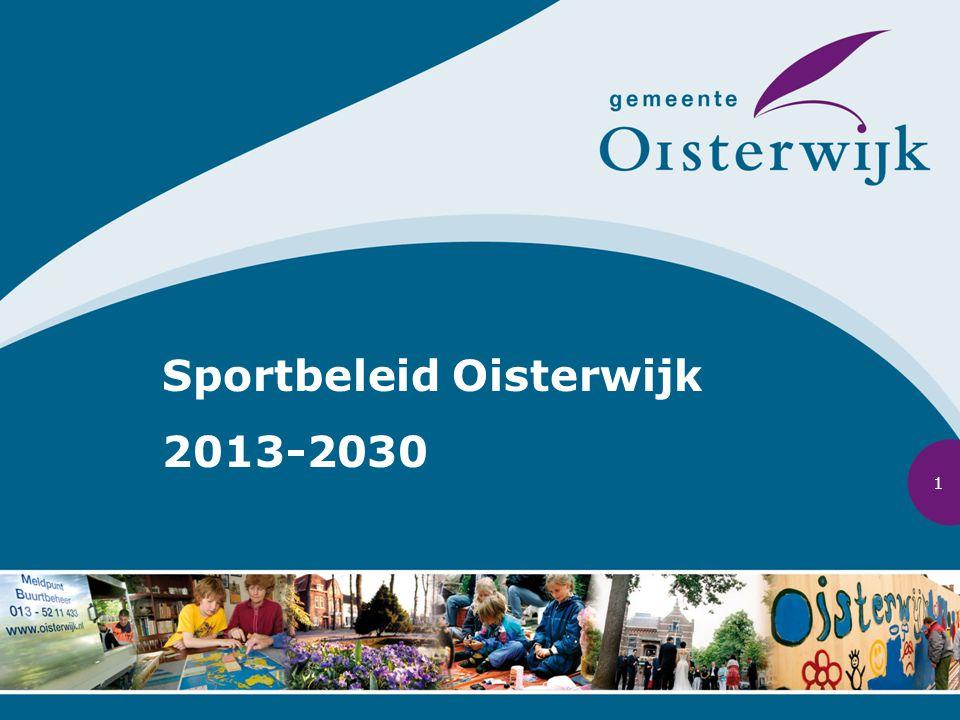 Sportbeleid Oisterwijk 2013-2030