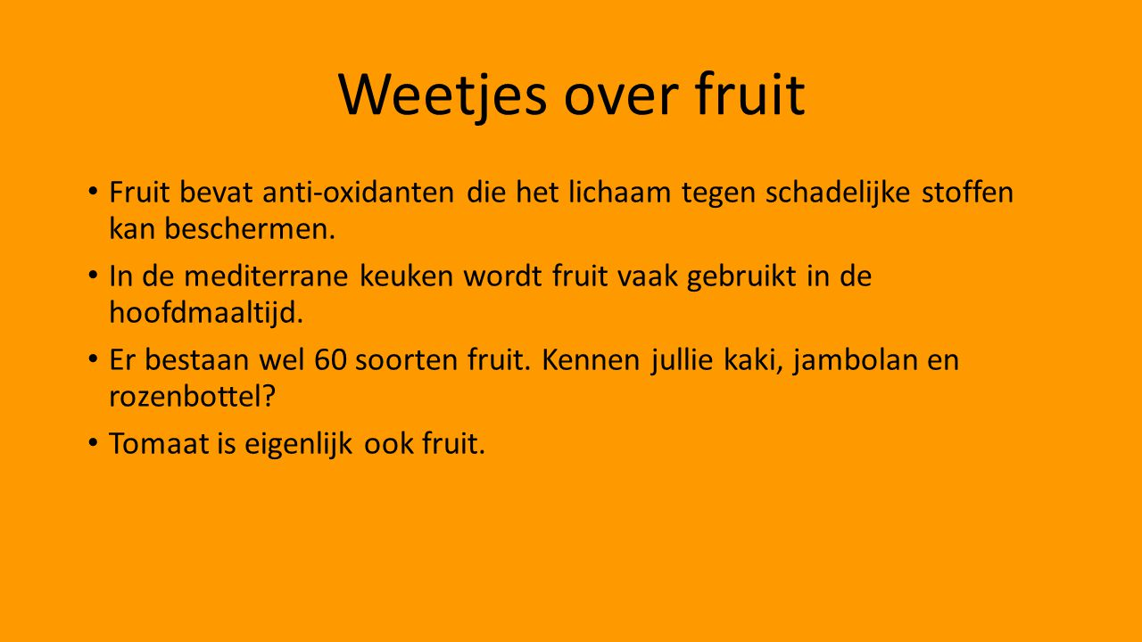 weetjes over de mens