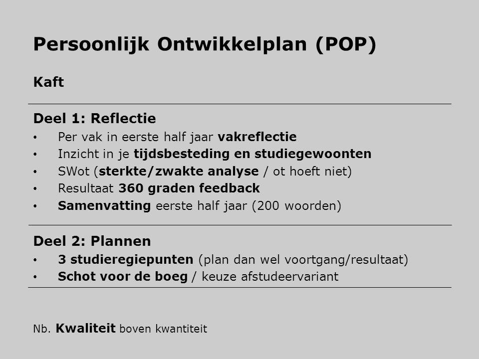 Persoonlijk Ontwikkelplan (POP)