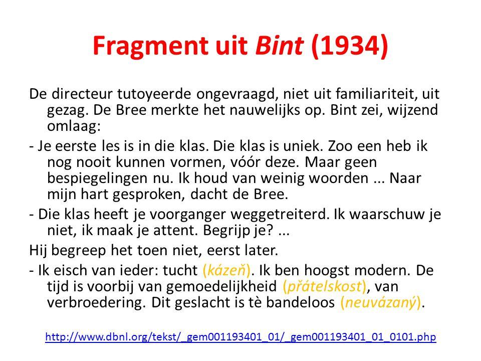 Fragment uit Bint (1934)