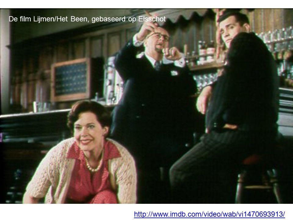 De film Lijmen/Het Been, gebaseerd op Elsschot