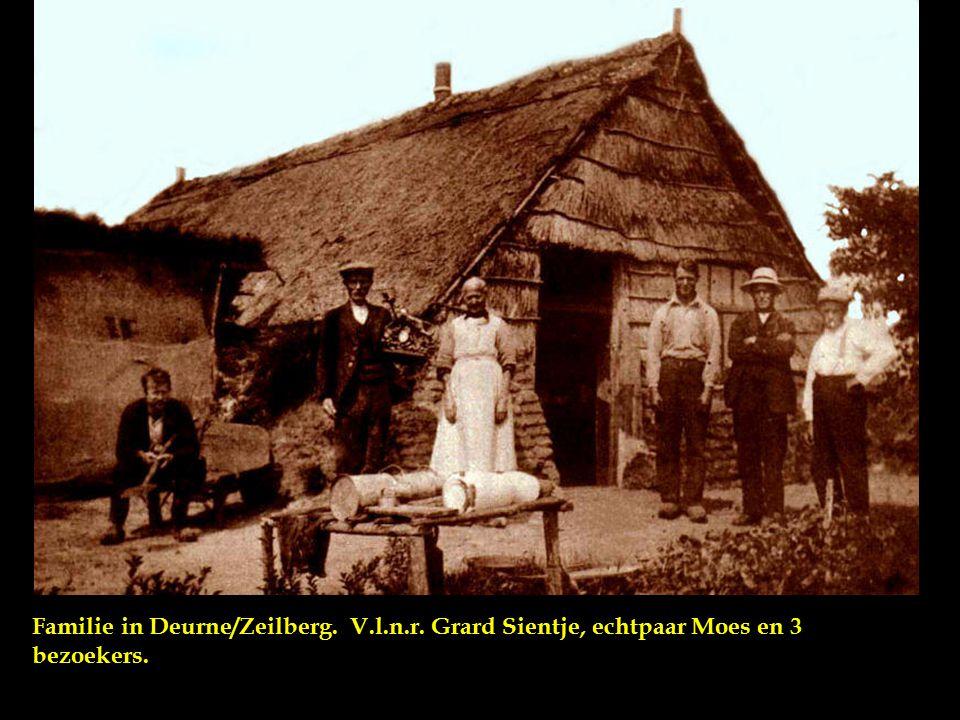 Familie in Deurne/Zeilberg. V. l. n. r