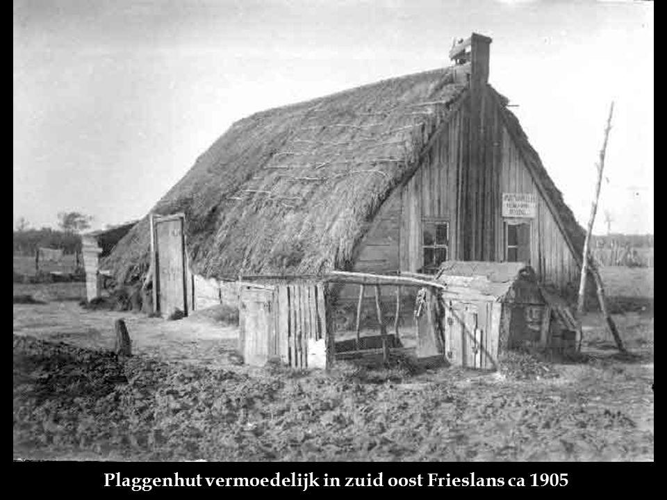 Plaggenhut vermoedelijk in zuid oost Frieslans ca 1905