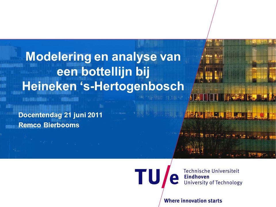 Modelering en analyse van een bottellijn bij Heineken 's-Hertogenbosch