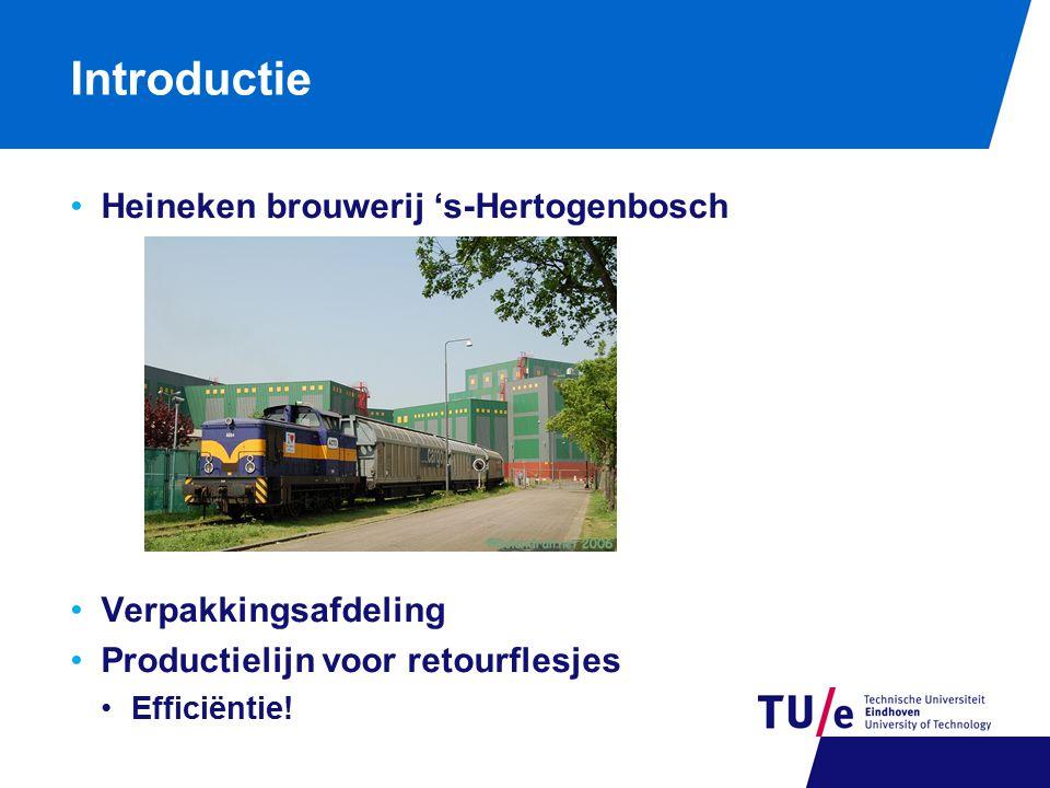 Introductie Heineken brouwerij 's-Hertogenbosch Verpakkingsafdeling