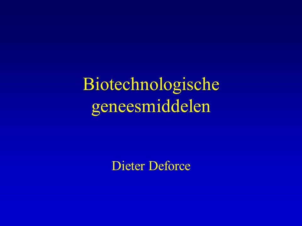 Biotechnologische geneesmiddelen
