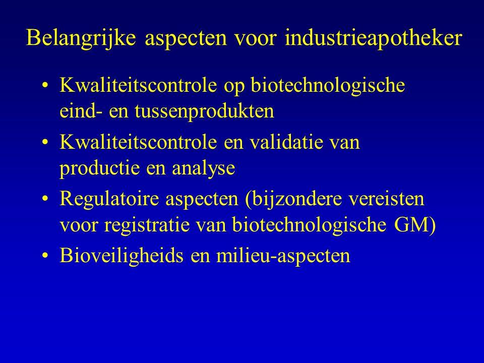 Belangrijke aspecten voor industrieapotheker