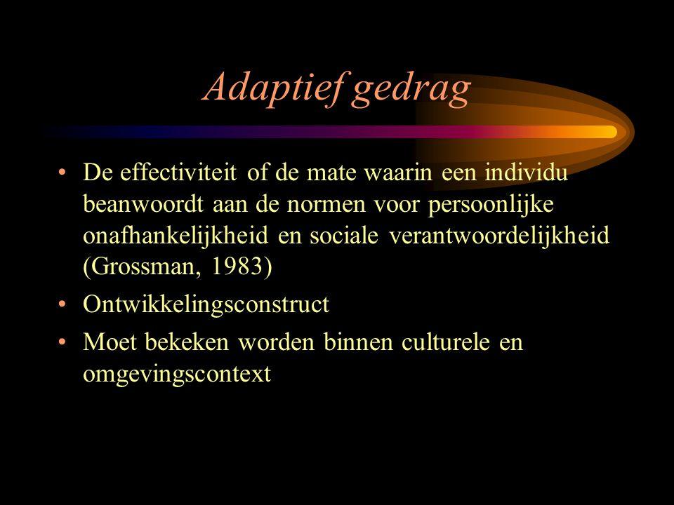 Adaptief gedrag