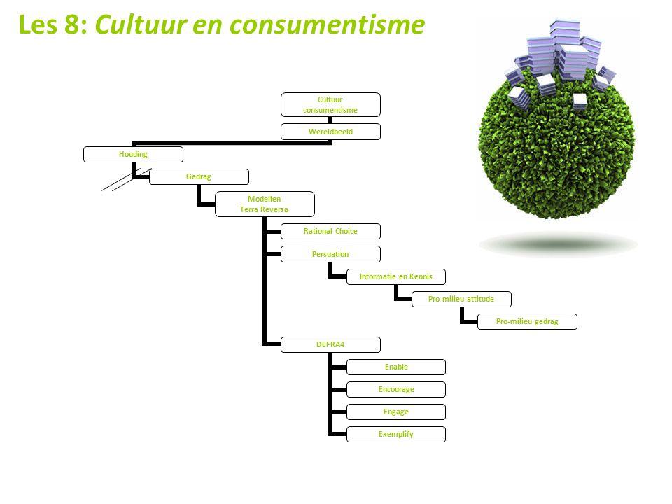 Les 8: Cultuur en consumentisme