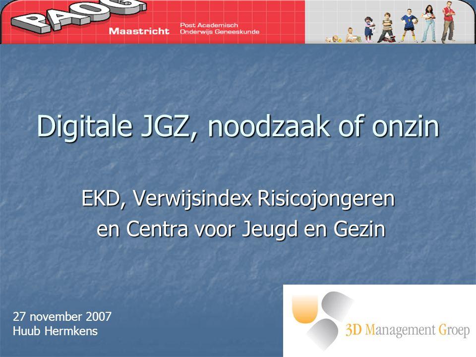 Digitale JGZ, noodzaak of onzin