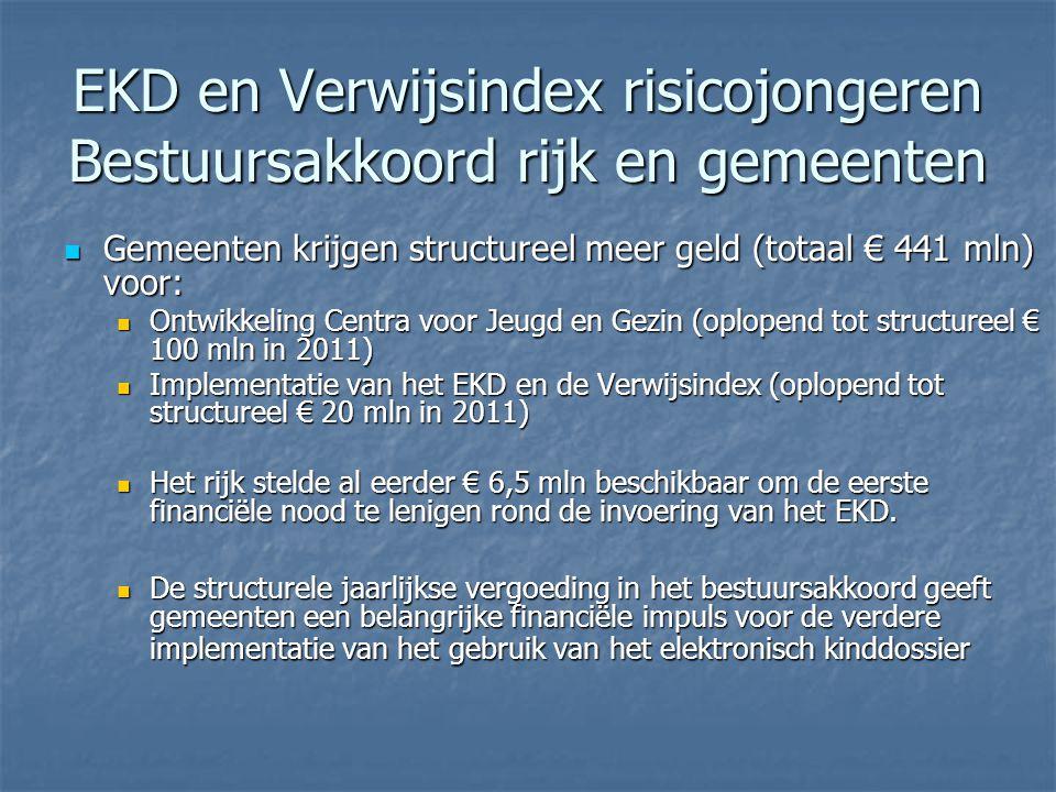 EKD en Verwijsindex risicojongeren Bestuursakkoord rijk en gemeenten