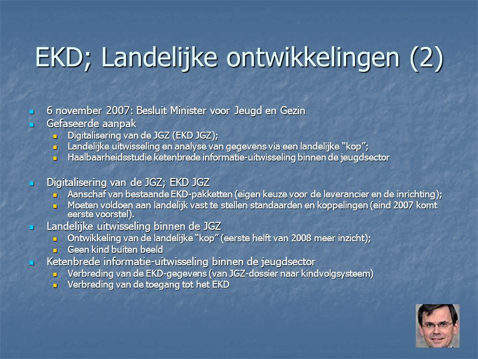 EKD; Landelijke ontwikkelingen (2)