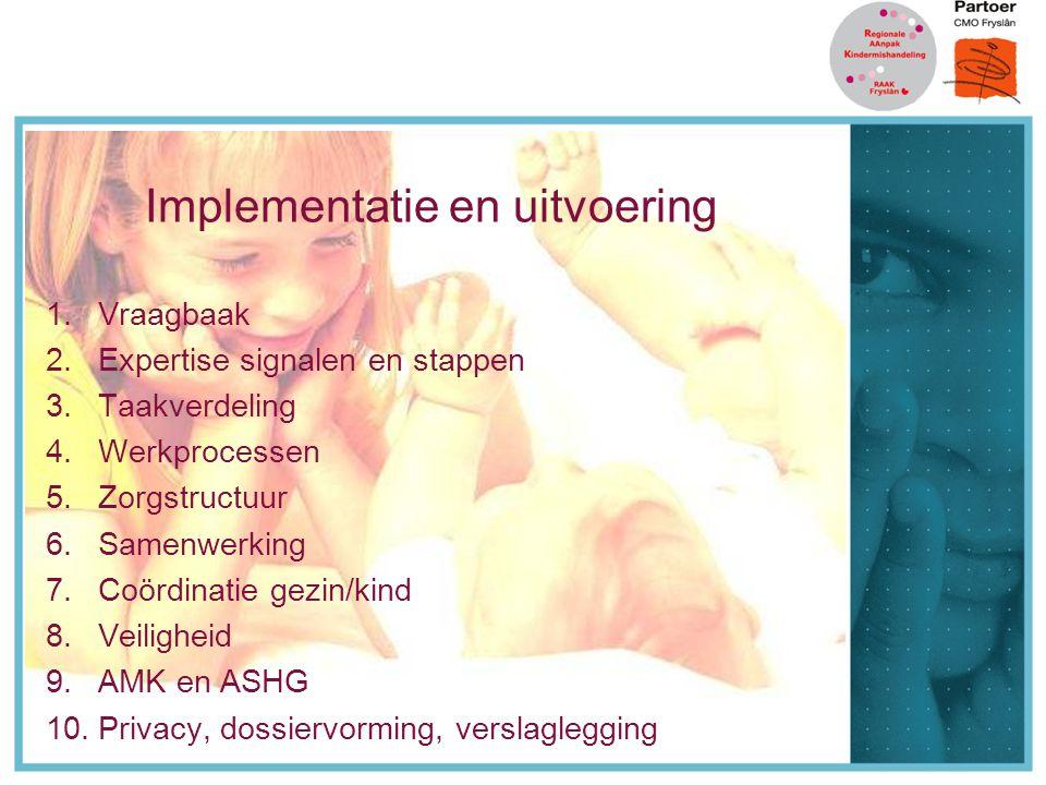 Implementatie en uitvoering