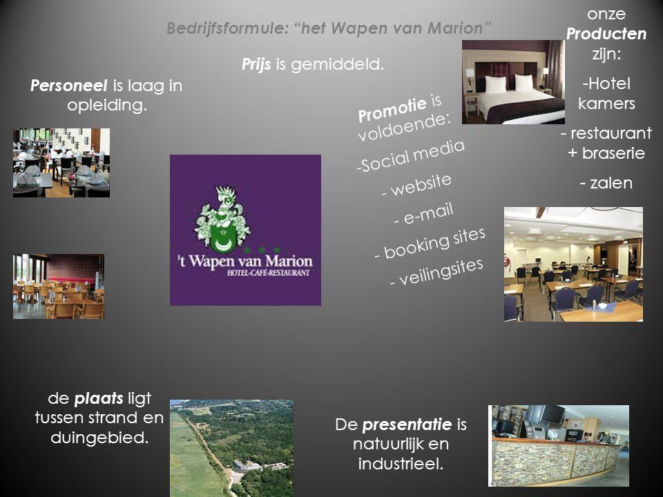 Bedrijfsformule: het Wapen van Marion