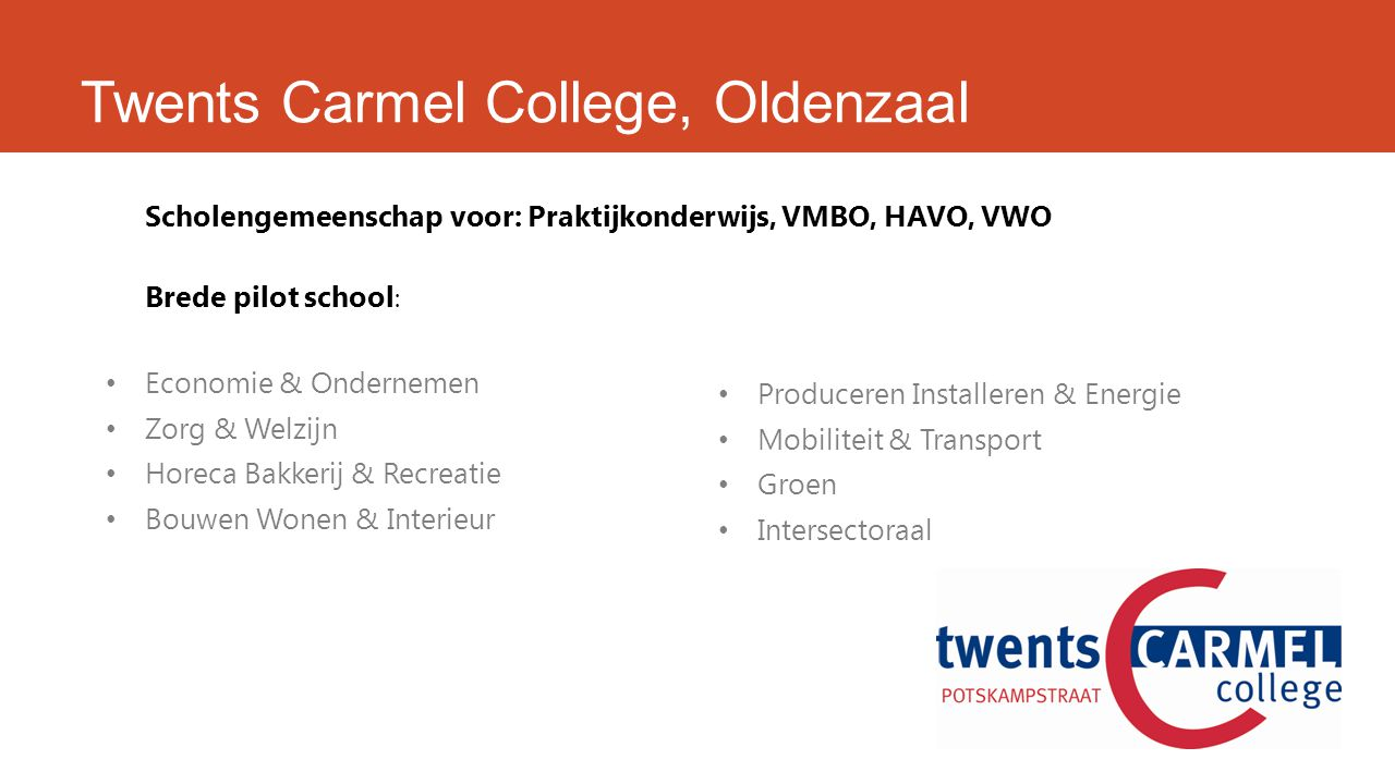 Twents Carmel College, Oldenzaal