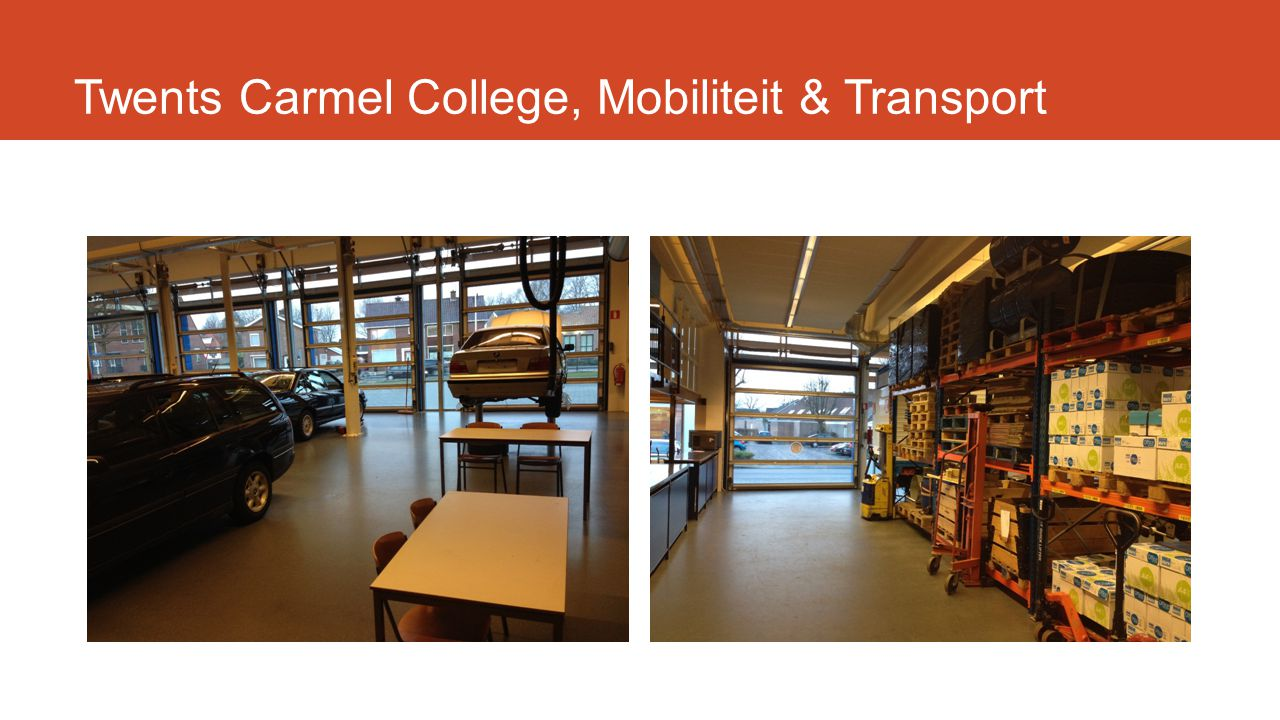Twents Carmel College, Mobiliteit & Transport