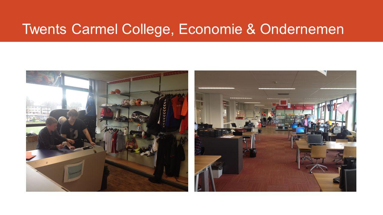 Twents Carmel College, Economie & Ondernemen