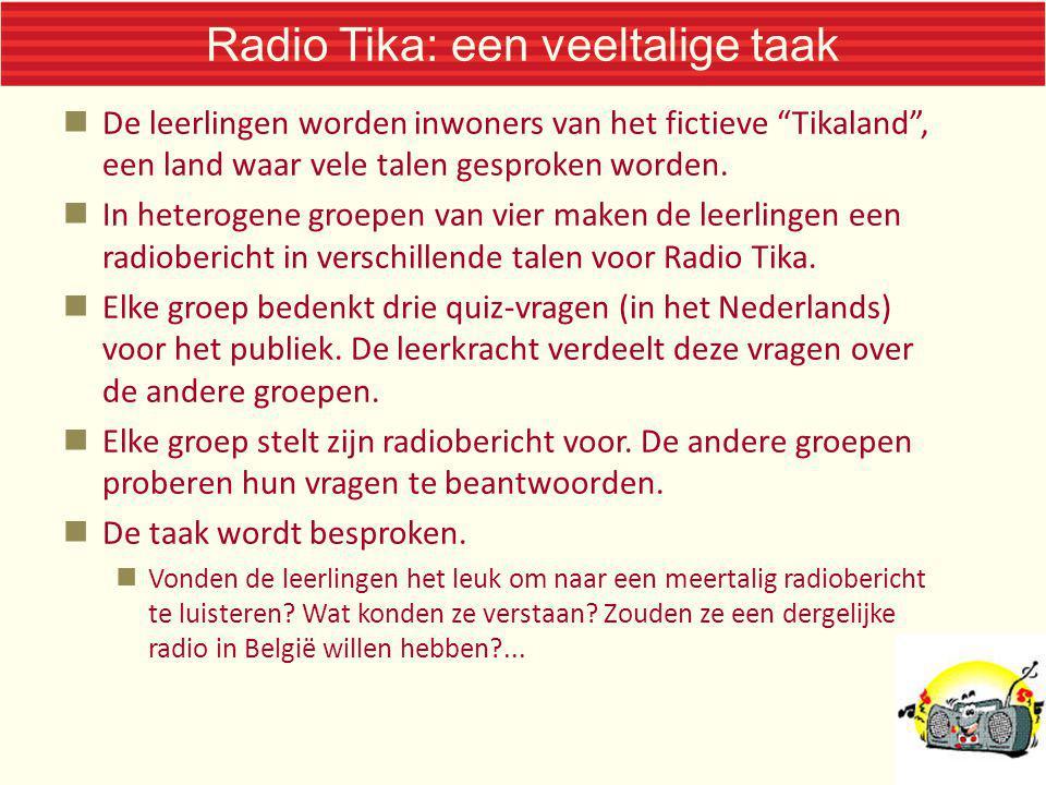 Radio Tika: een veeltalige taak